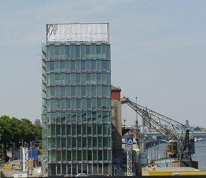 Foto: Baustelle am Südkai in Köln