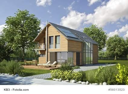 Fertigbau-Häusern