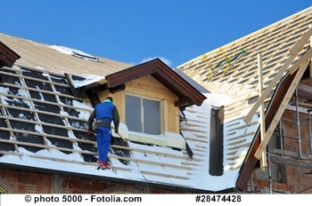 Foto: Dacharbeiten