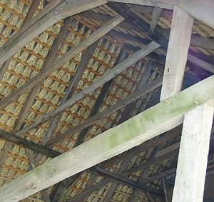 Bild- Dachstuhl