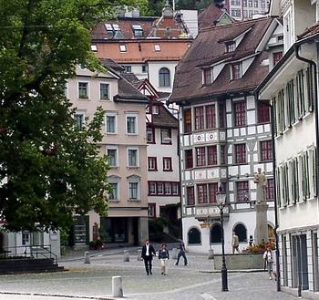 Foto: Sankt Gallen- Gallusplatz
