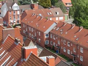 Foto- Dächer von Emden
